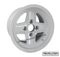 Revolution 4 Spoke Classic Rally Race Alloy Wheel 13 x 8 Escort Mk2 Group4 Fit