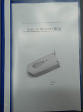 Nokia 22 GSM 900/1800 user manual