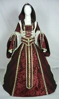 Medieval Renaissance Tudor Wedding Handfasting LARP Gown Dress Costume (MD-13)