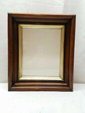 Vintage Antique Gold Gilt Deep Picture Painting Frame Eastlake Shadow Box Walnut