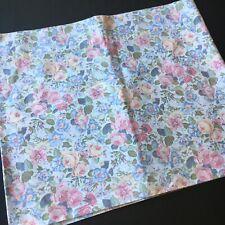 Laura Ashley Quartet Floral 1 Window Valance Pink Yellow Blue 84 X 18