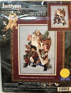 Janlynn Santa & Friends Christmas Cross Stitch Kit 125-231 Victorian Children