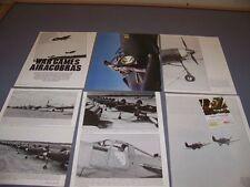 "VINTAGE..P-39D AIRACOBRA ""WAR GAMES""..HISTORY/PHOTOS/DETAILS..RARE! (520M)"