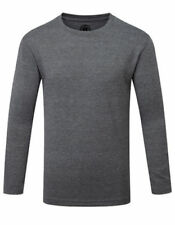 Magliette , maglie e camicie grigi manica lunghi per bambini dai 2 ai 16 anni misto cotone