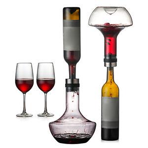Rotweindekanter Handgeblasener bleifreier Kristall sorgt für intensive