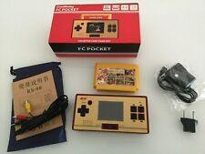 8 Bit Mini Konsole Fc Pocket Nes Handheld mit Spiele und Karte