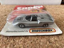 Matchbox Superfast Super GT Porsche 910 In Silver , MOC