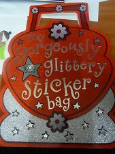 MY GORGEOUSLY GLITTERY STICKER BAG New Paperback
