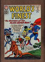 1962 World's Finest Comics #124 VG Batman Superman Alien Super-Boy