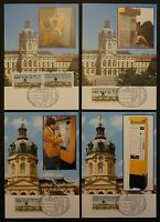 BERLIN ATM MK 1987 VS2 KOMPLETT 4 MAXIMUMKARTEN MAXIMUM CARD MC CM d394
