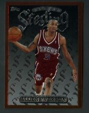 1996-97 Topps Finest Sterling Allen Iverson 76ers RC Rookie