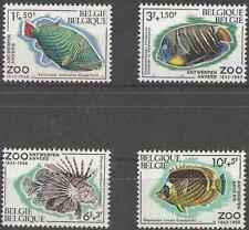 Timbres Poissons Belgique 1470/3 ** (32097B)