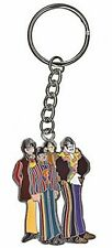 Beatles Cartoon Band Metal Keyring (ro)