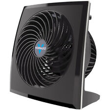 Vornado Compact Panel Whole Room 3-Speed Air Circulator Fan in Black