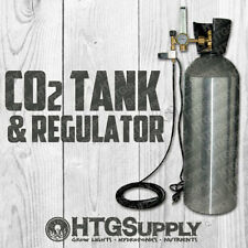 C02 Complete Controller + New 20 lb Aluminum Tank Regulator Generator Co2 inject