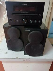 Yamaha CRX-330 BLACK Stereo CD -USB & iPOD Receiver  -  NO DISPLAY