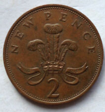 Great Britain 2 New Pence 1980 coin