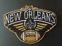 2018 NEW ORLEANS SAINTS PATCH FULL EMBROIDERY TOM BENSON FOOTBALL PELICANS STYLE
