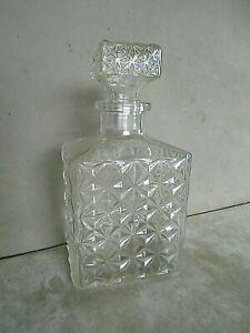 Glass Decanter. VGC