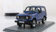 1:43 TOYOTA Landcruiser LJ70 Metallic Blue NEO43999 Neo Scale Models