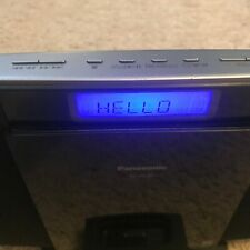 Panasonic Compact Stereo System SC-HC20 - WORKS FINE