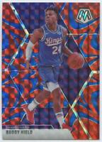 2019-20 PANINI MOSAIC REACTIVE BLUE PRIZM SP BUDDY HIELD #198 KINGS SOONERS