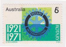 (K29-82) 1971 AU 6c 50 years of rotary MUH