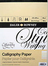 Daler Rowney Calligraphy Paper Pad - A4