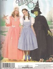 Simplicity Wizzard Of OZ Costume Sewing Pattern 4136 (6-12)
