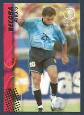 PANINI WORLD CUP 2002- #112-URUGUAY & INTER MILAN-ALVARO RECOBA