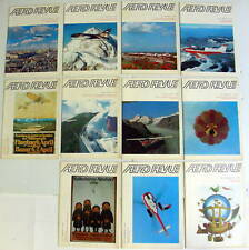 1971 AERO REVUE MAGAZINE  SET 0F 11 aeroplane aviation
