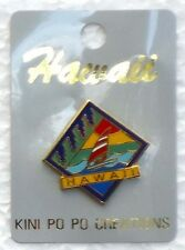 HAWAIIAN COLLECTABLE HAWAII SAILBOAT PIN