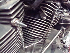 YAMAHA ROADSTAR WARRIOR CHROME OIL LINE SPIKES spike xv1700 road star engine