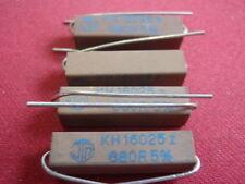 RARO! alta carico resistenza 680 Ohm cemento 5w 6x6x24mm 4x 24425