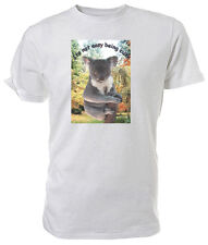 Cute Koala T shirt, It's not easy being cute WILDLIFE - Choice of size & colour!