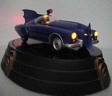 DC DIRECT BATMOBILE: 1950'S EDITION REPLICA Light UP BATMAN STATUE w/Blueprint
