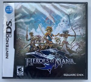 Heroes of Mana Nintendo DS (2007) Brand New, Sealed