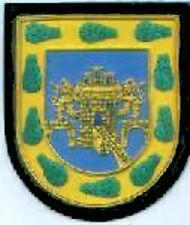 Mexico State Ciudad Capital City Arms Crest Blazer Patch Heraldry COA Seal GOV M