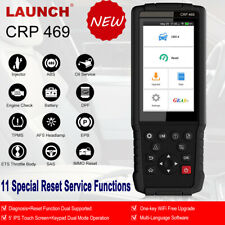 LAUNCH X431 CRP469 Android Touch Scanpad ABS Bleeding AFS ETS DPF Oil Reset Scan