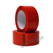 """Red Color Carton Sealing Packing Tape 2"""" x 330' / 48 mm x 110 yards (36 Rolls)"""