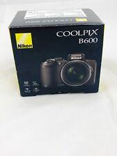 Nikon Coolpix B600 Point & Shoot Camera - Black- No Instruction Manuals