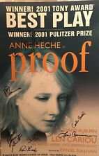 Anne Heche, Neil Patrick Harris + Signed PROOF Signed Broadway Poster