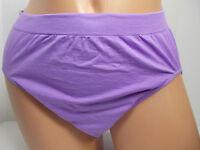 Bali Comfort Revolution4-Way Stretch Medium Lavender Hi Cut Panty, Size 8/9