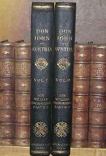 Don Juan de Austria, 1883,Sir William Stirling-Maxwell,,LEATHER, VERY RARE!!!