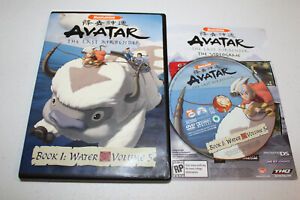 Avatar The Last Airbender Book 1: Water - Vol. 5 (DVD 2006) Nickelodeon