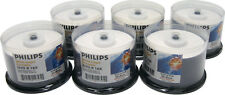 (300) DVMRPHIJ DVD Disc Philips Inkjet Printable DVD-R 16x DVDR Blank Discs NEW