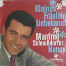 """7"""" 1966 Cantagallo RARE VG + +! Manfred schnelldorfer: piccola signorina sconosciuta"""
