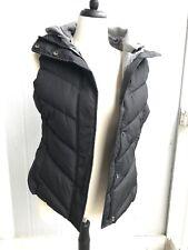 Gap Detachable Hood Vest Sz M color True Black (133112)