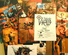 Dave McKean Private View Postcard Set 1996 Art from Comic Magazine & Cd Covers