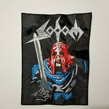SODOM IN THE SIGN OF EVIL  EMBROIDERED BACK PATCH